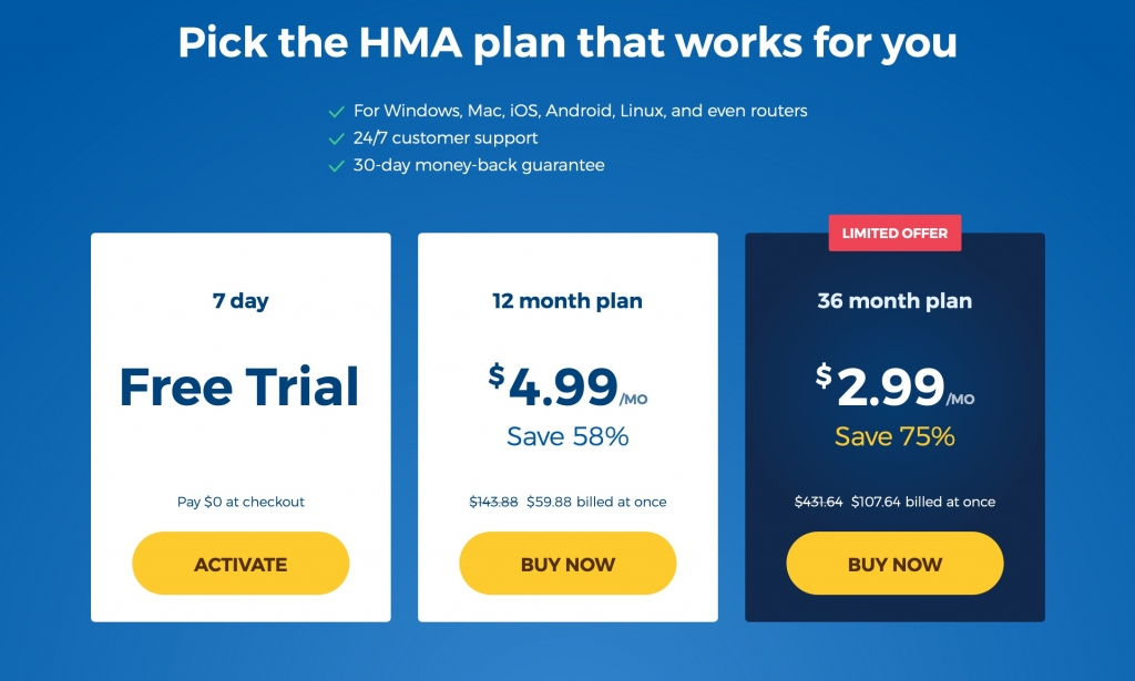 how much cost hma vpn in US - free hide my ass vpn