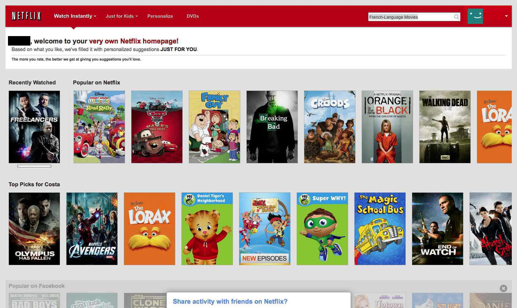 Bypass Netflix - HD movies french language