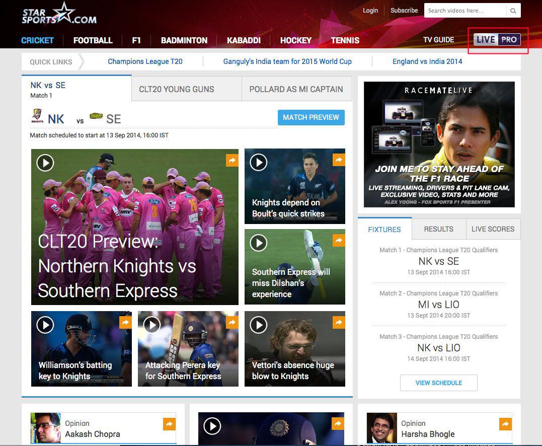 unblock Star Sports free