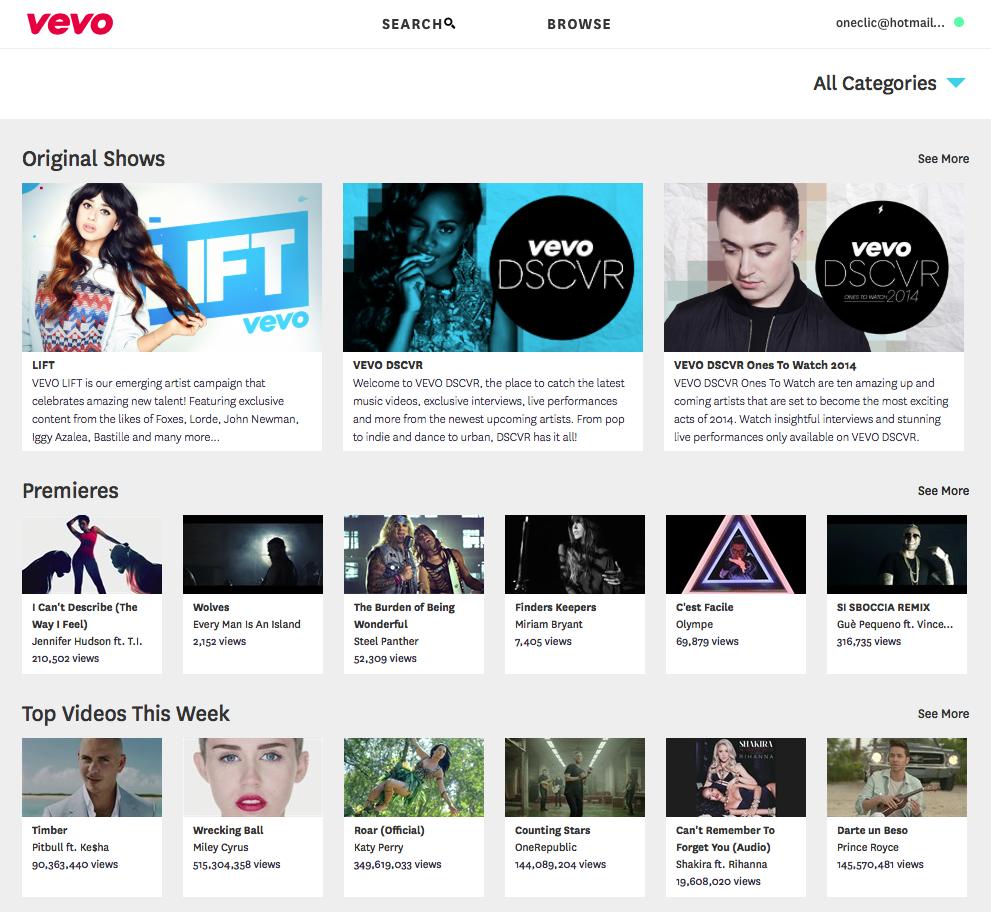 Bypass VEVO - Watch music videos free