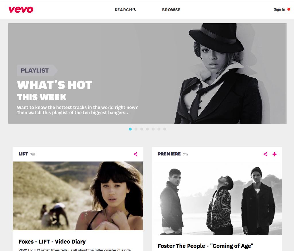 Unblock VEVO - Watch music videos free