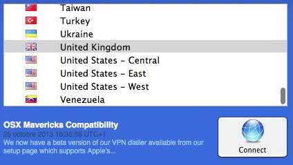Unblock VEVO - VPN connection