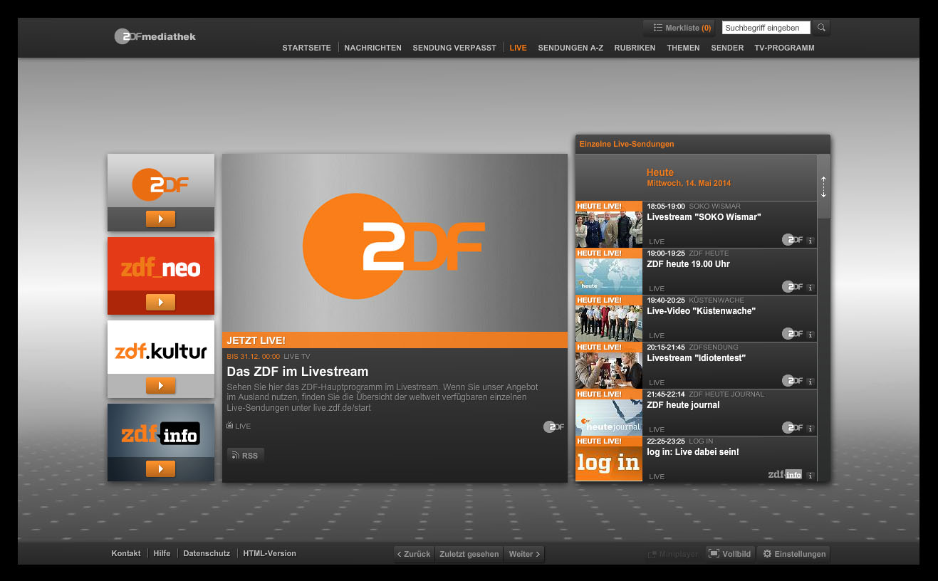 how to unblock and watch zdf channels online outside