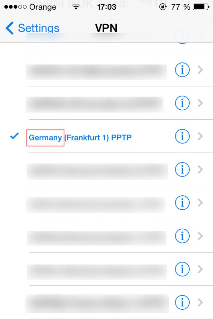 VPN for ZDF - German iP