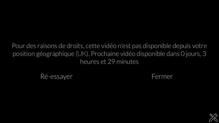 unblock France 2 cette video n'est pas disponible depuis votre position geographique