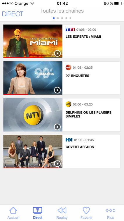 watch TF1, TMC, NT1, HD1 outside France