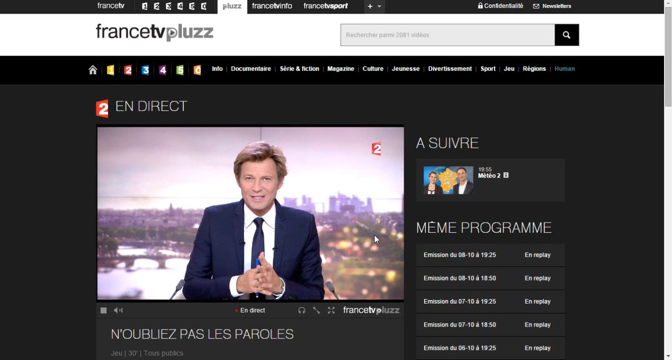 France 2 live stream outside France, bypass geo blocking,unblocked
