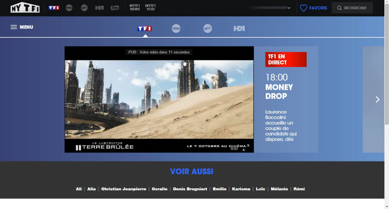 TF1 live stream outside France, bypass geo blocking,unblocked