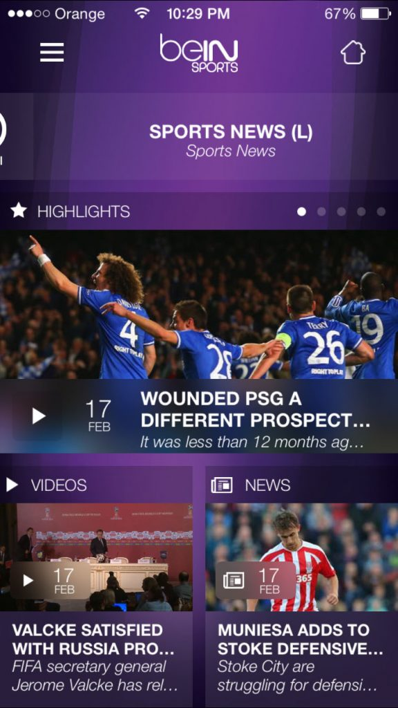 iOS iphone and ipad unblocked beinsportsconnect Error 3222