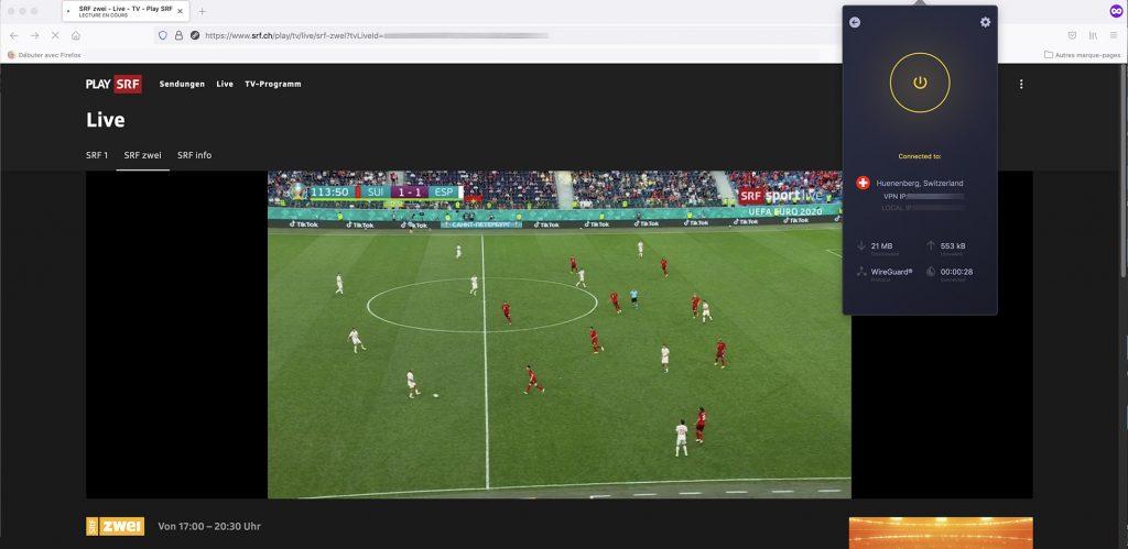 watch SRF Zwei outside Switzerland - work with VPN