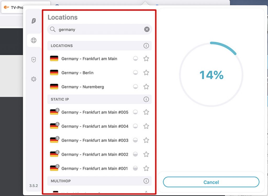vpn-german iP working with ZDF Geramany