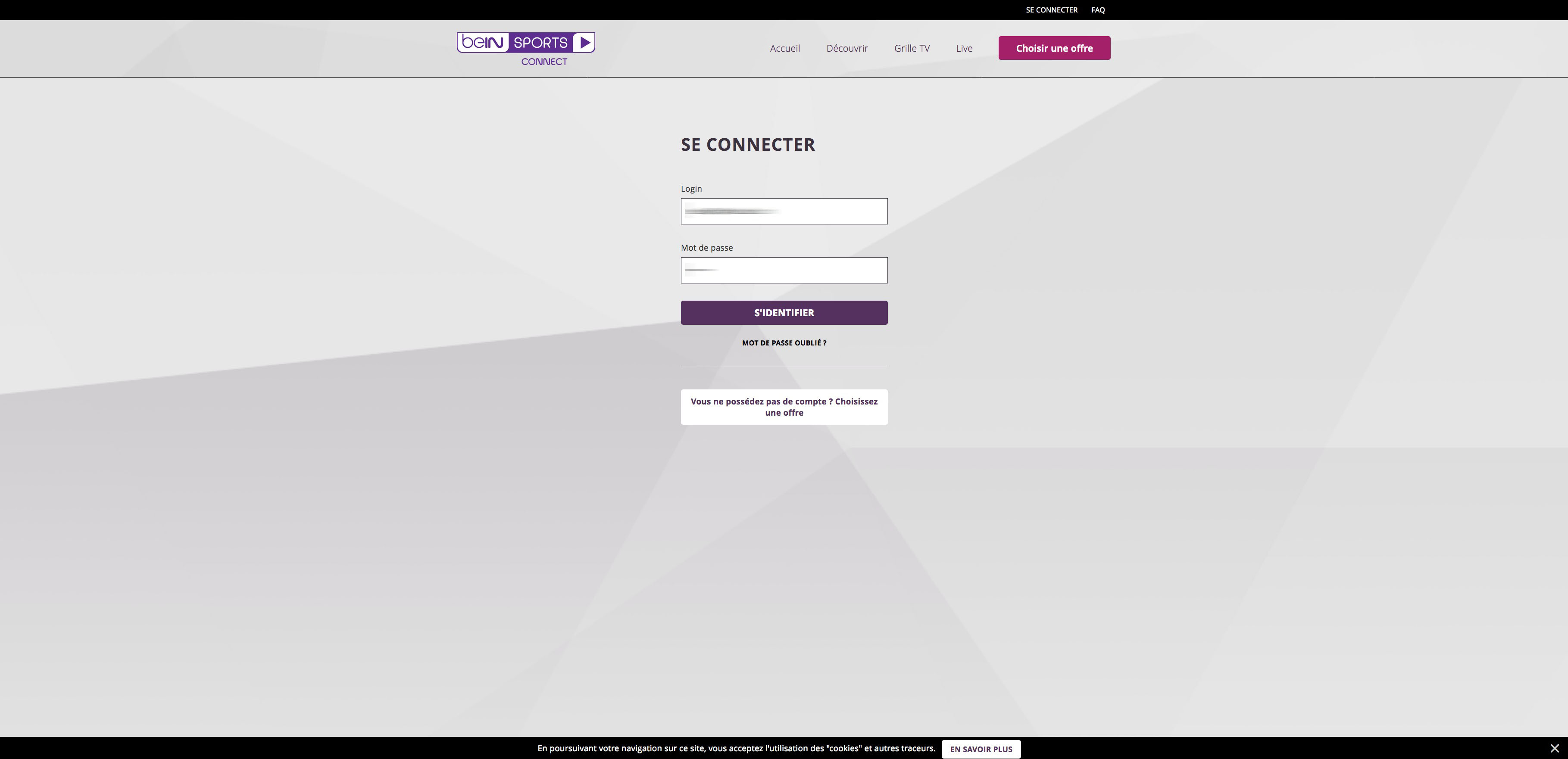 unblock bein connect france bypass error 1101 error 3222