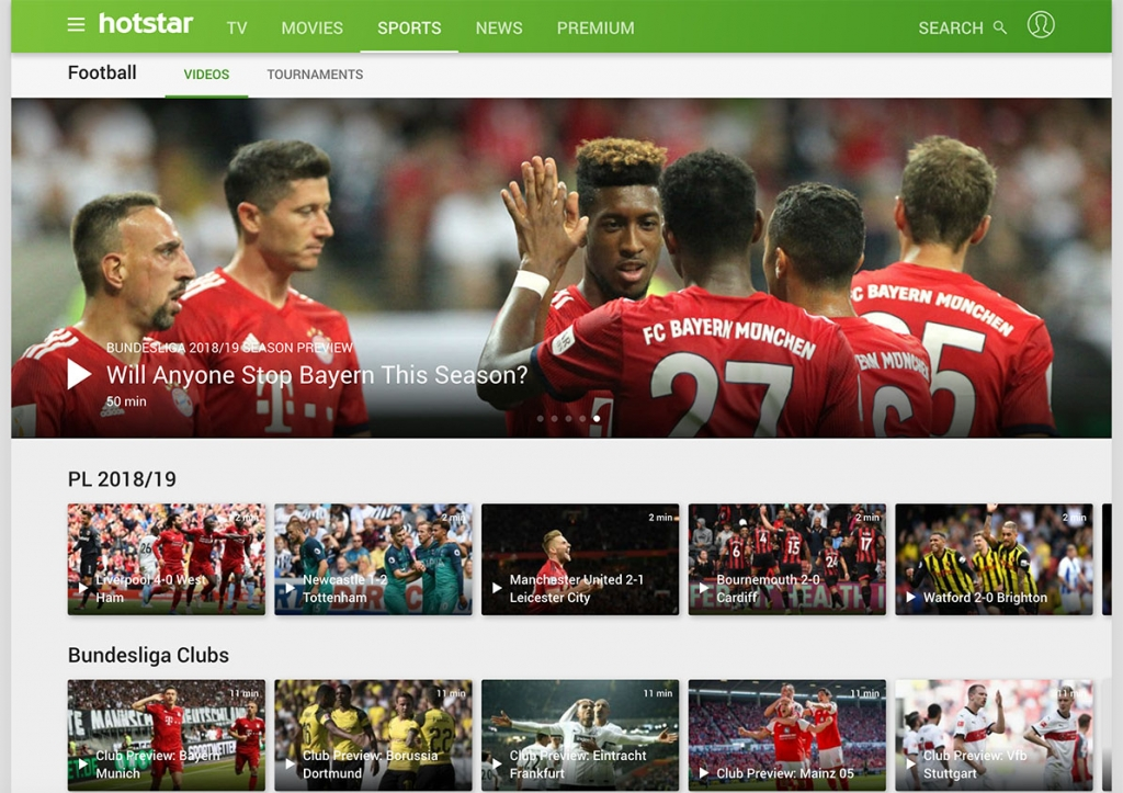 watch bundesliga live online for free