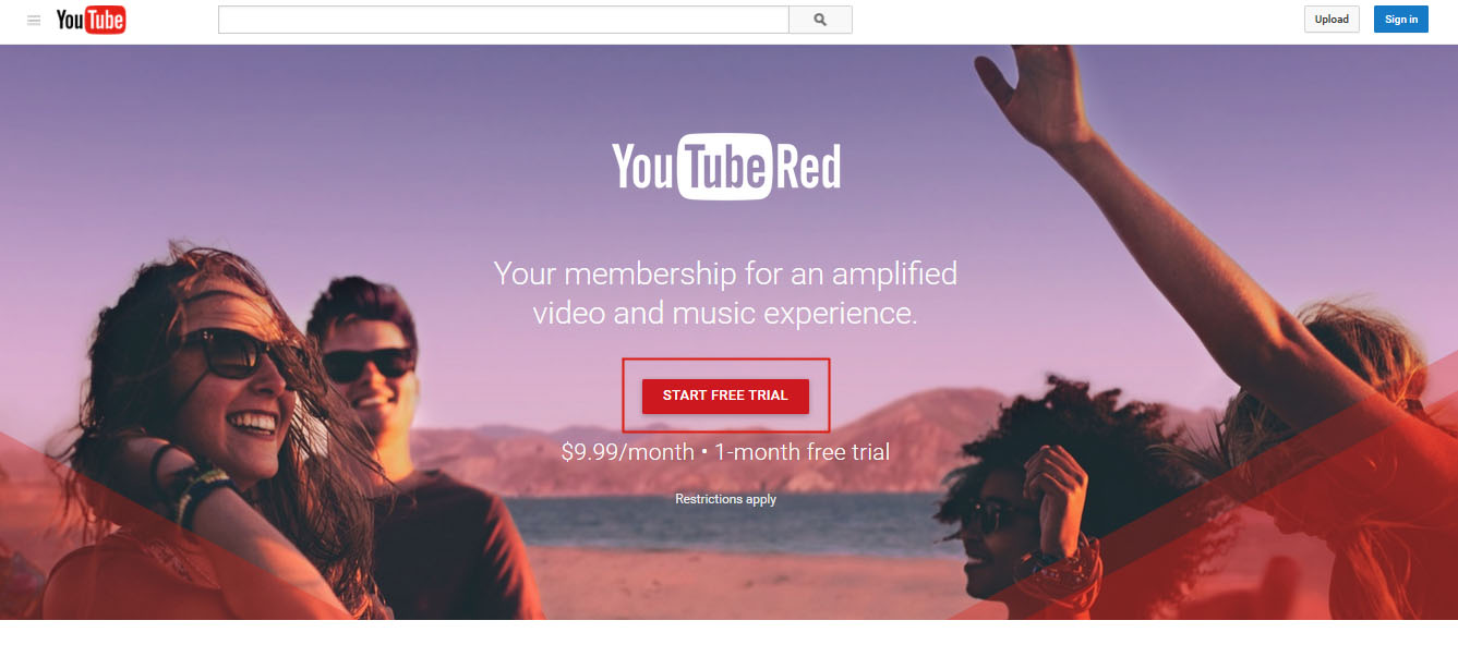 youtube music 3 months free