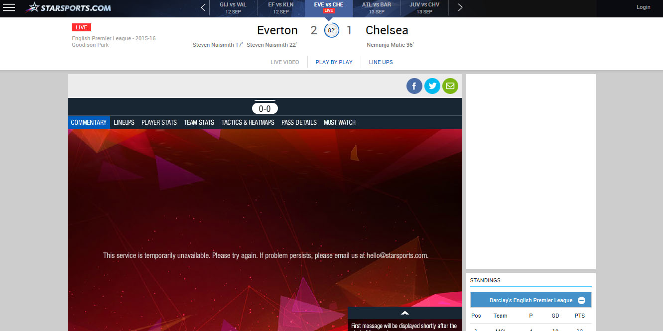 free barclays premier league star sports unblock
