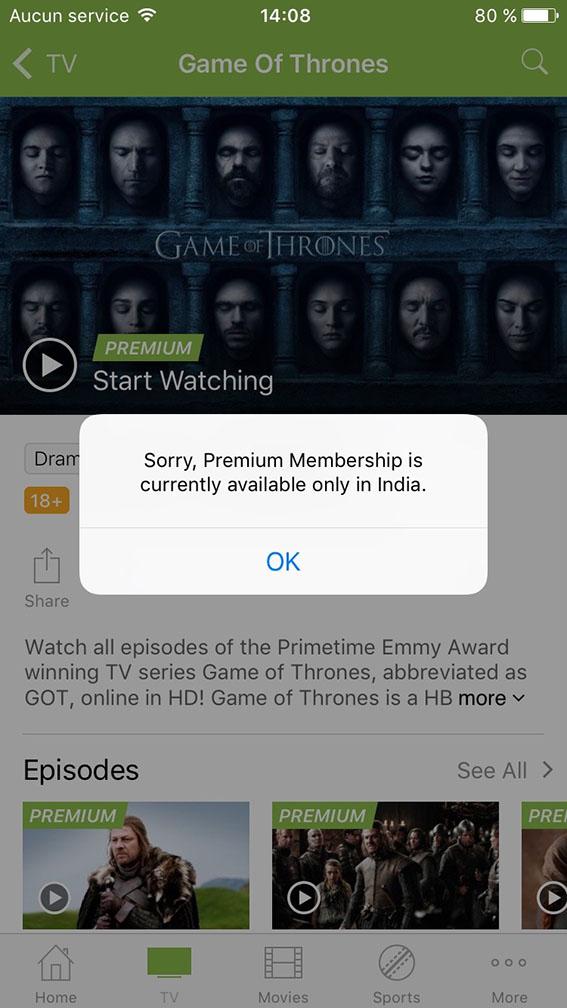 unlock hotstar free premium ios app itunes
