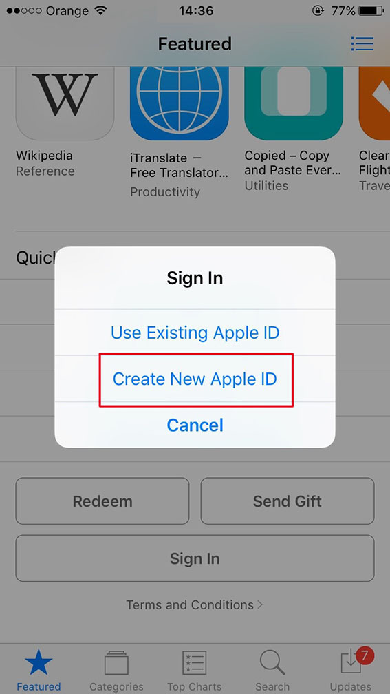 Steps to create an indian Apple account without a Credit/Debit Card