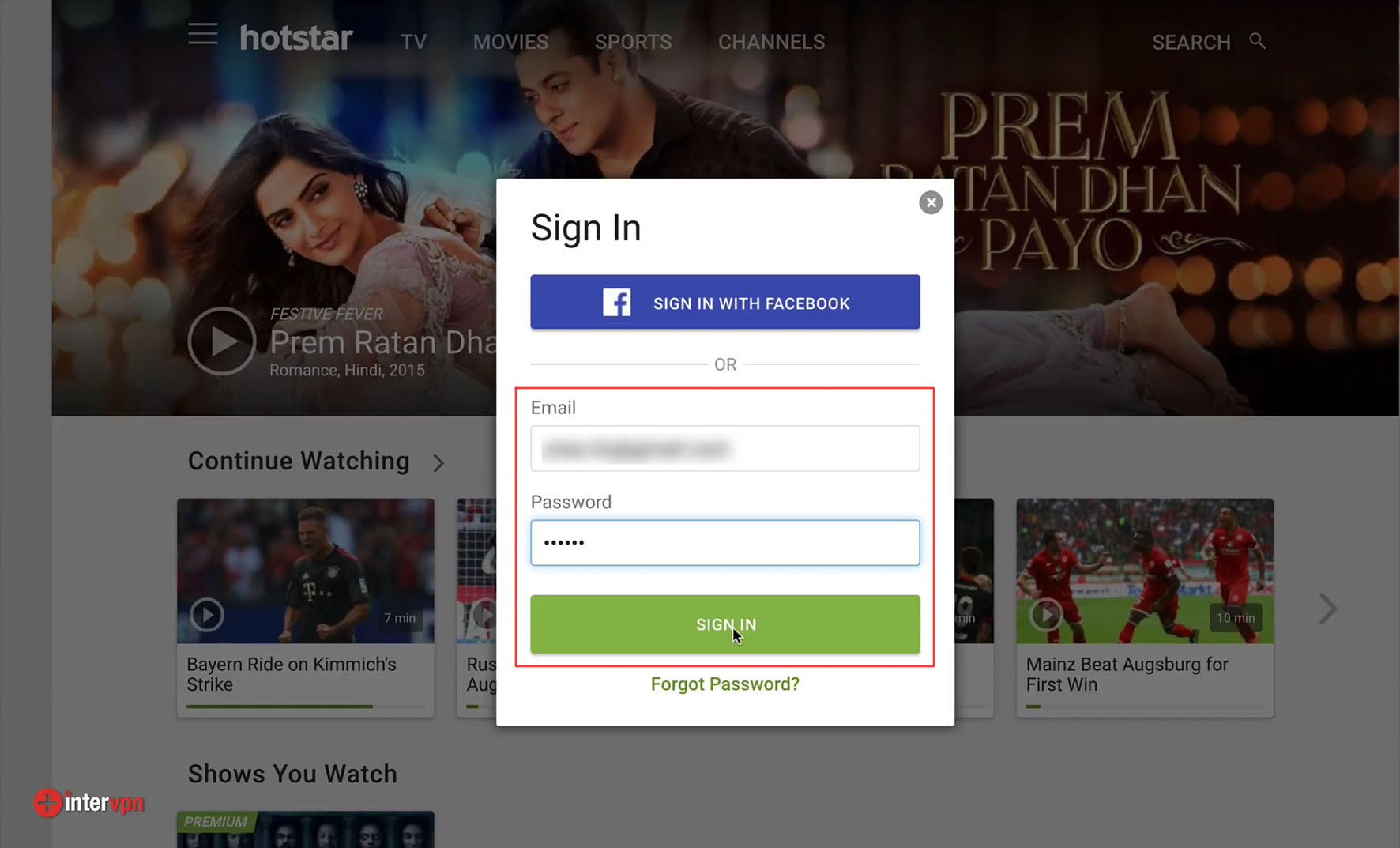 how to cancel prime membership in hotstar