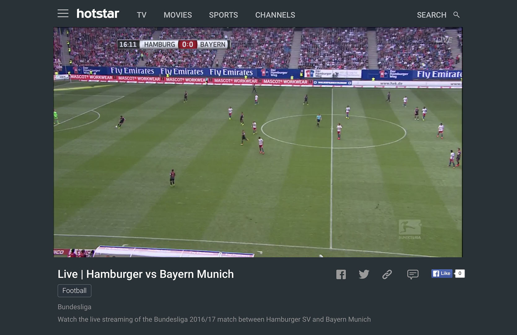 bundesliga live steam