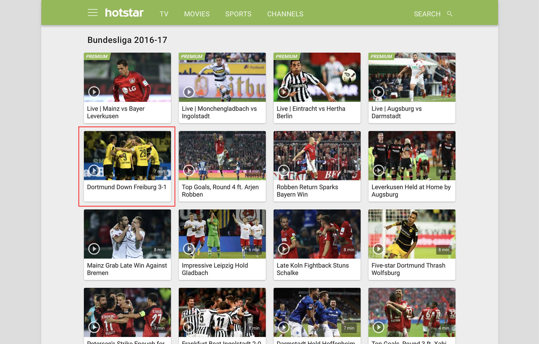 bundesliga live streaming free