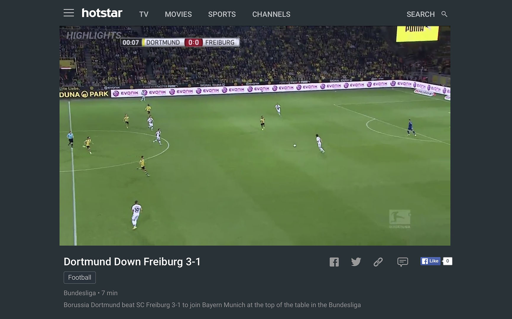 premium account hotstar bundesliga live stream VPN unblock