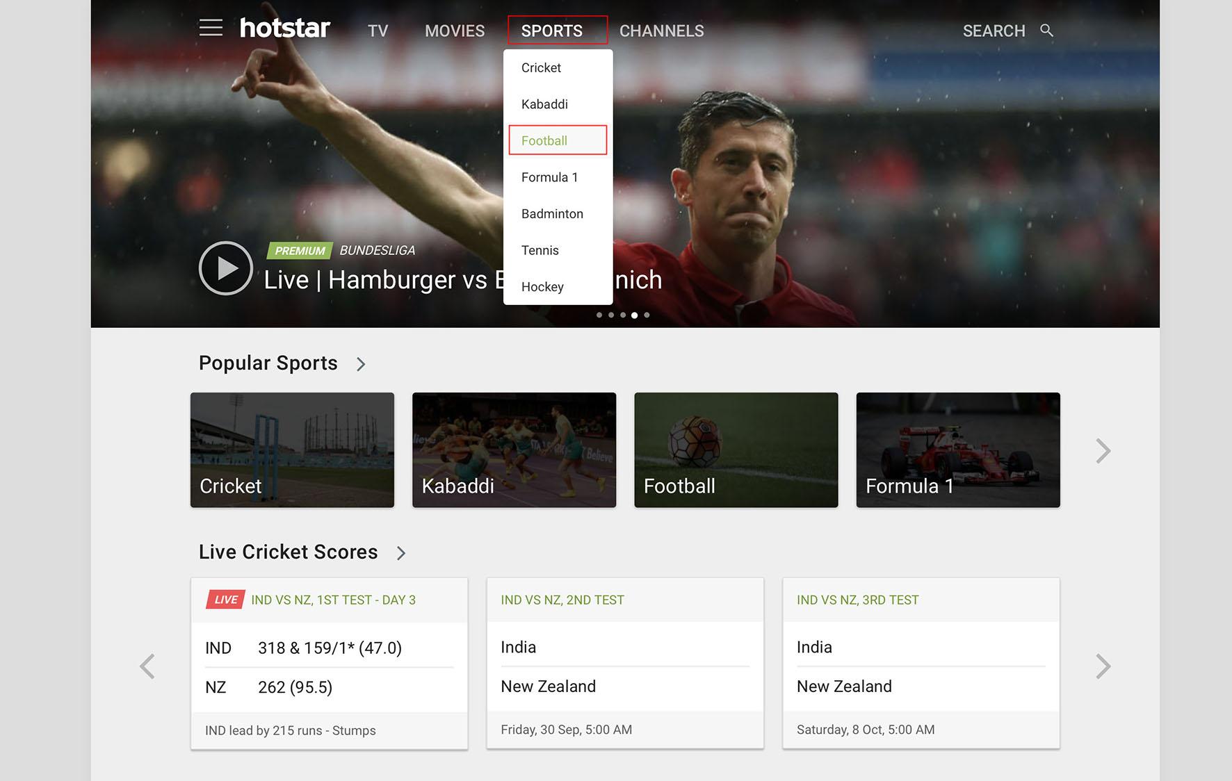 unblock hotstar bundesliga live stream VPN unblock