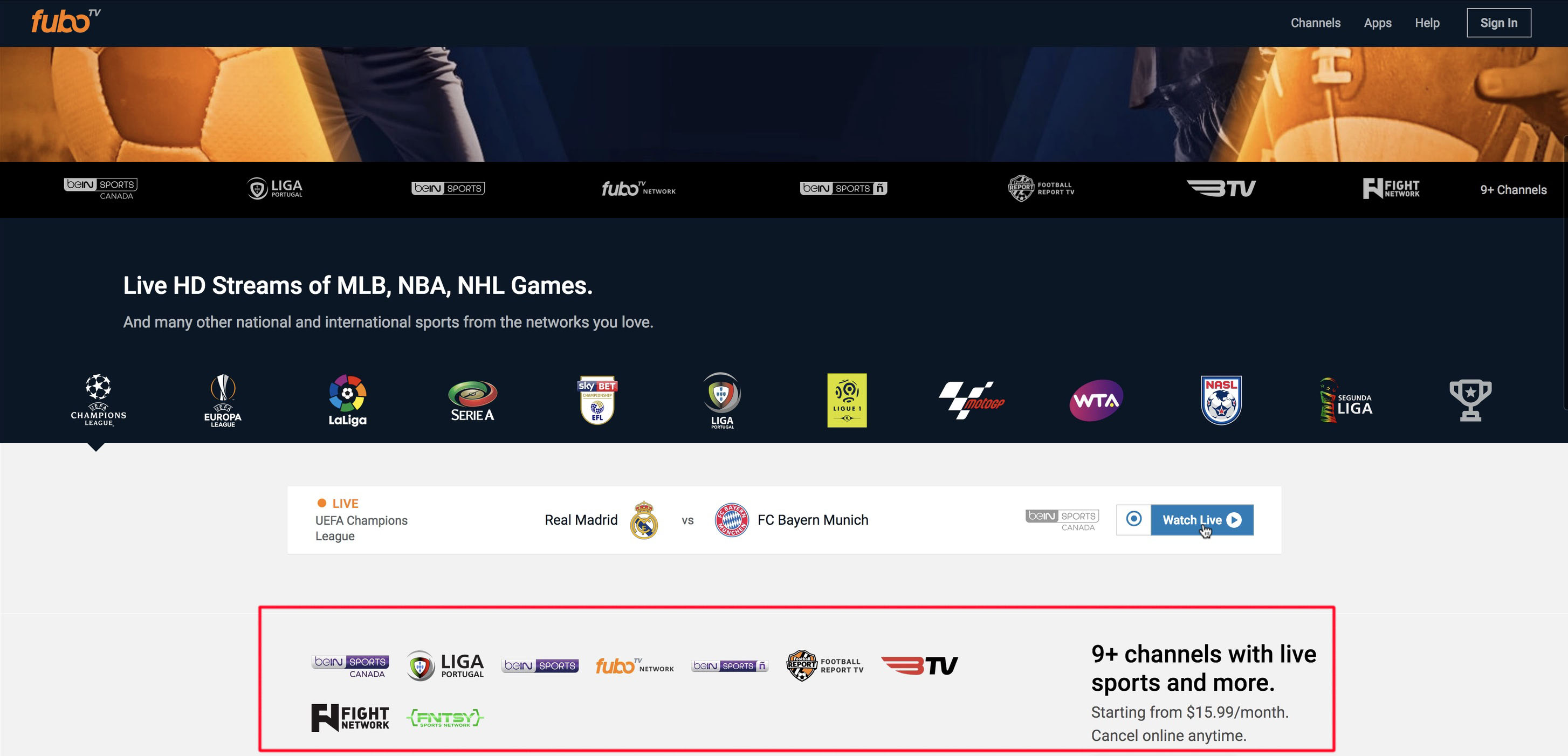 Unblock Fubo TV Outside Canada - bypass bein sports Geoblocking