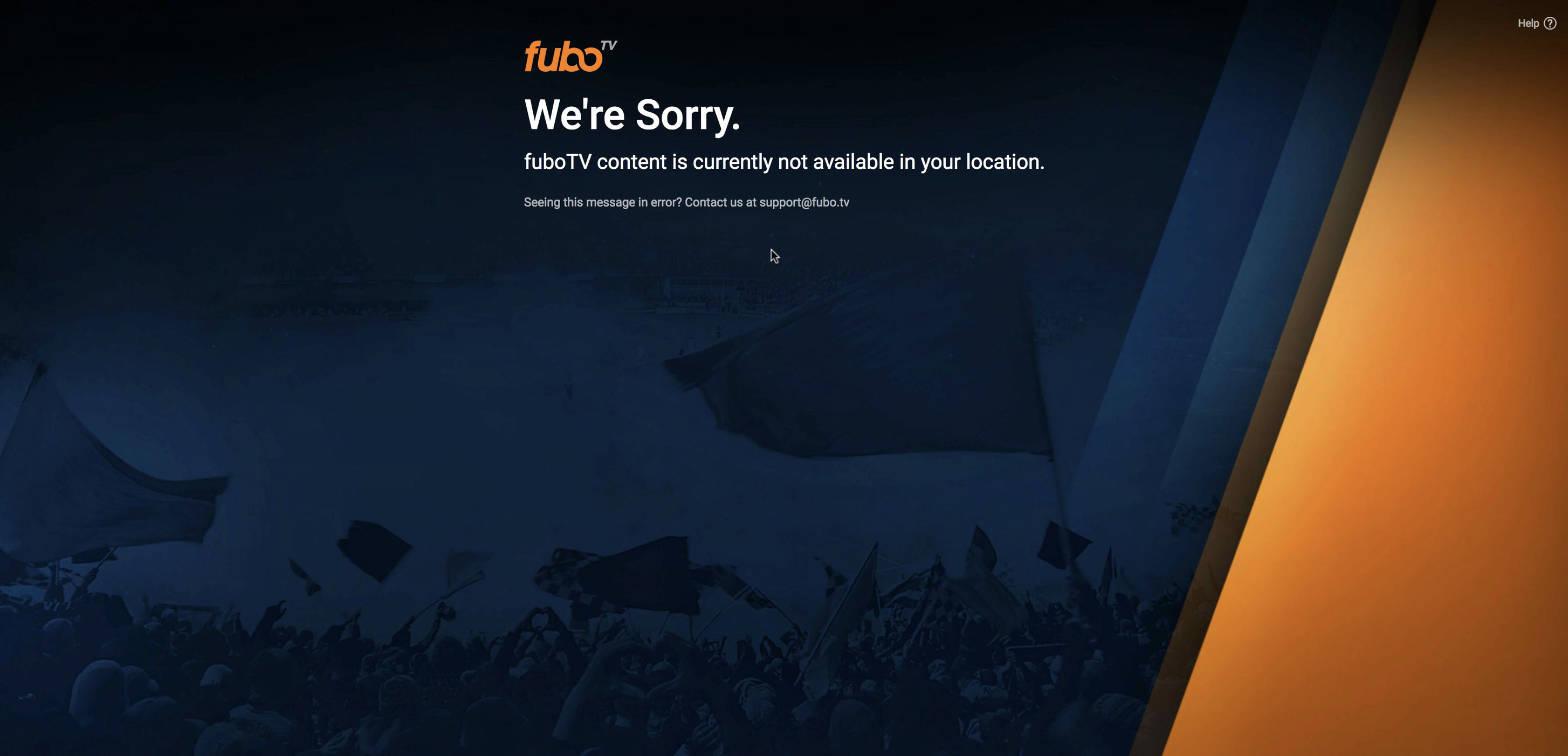 Watch FuboTV Outside US - Free account