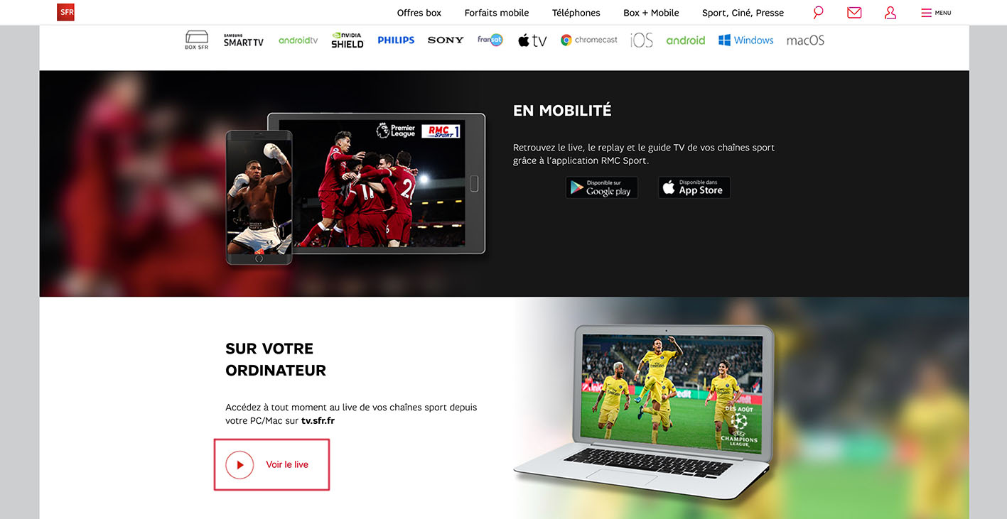 Watch RMC Sport Live Streaming outside France