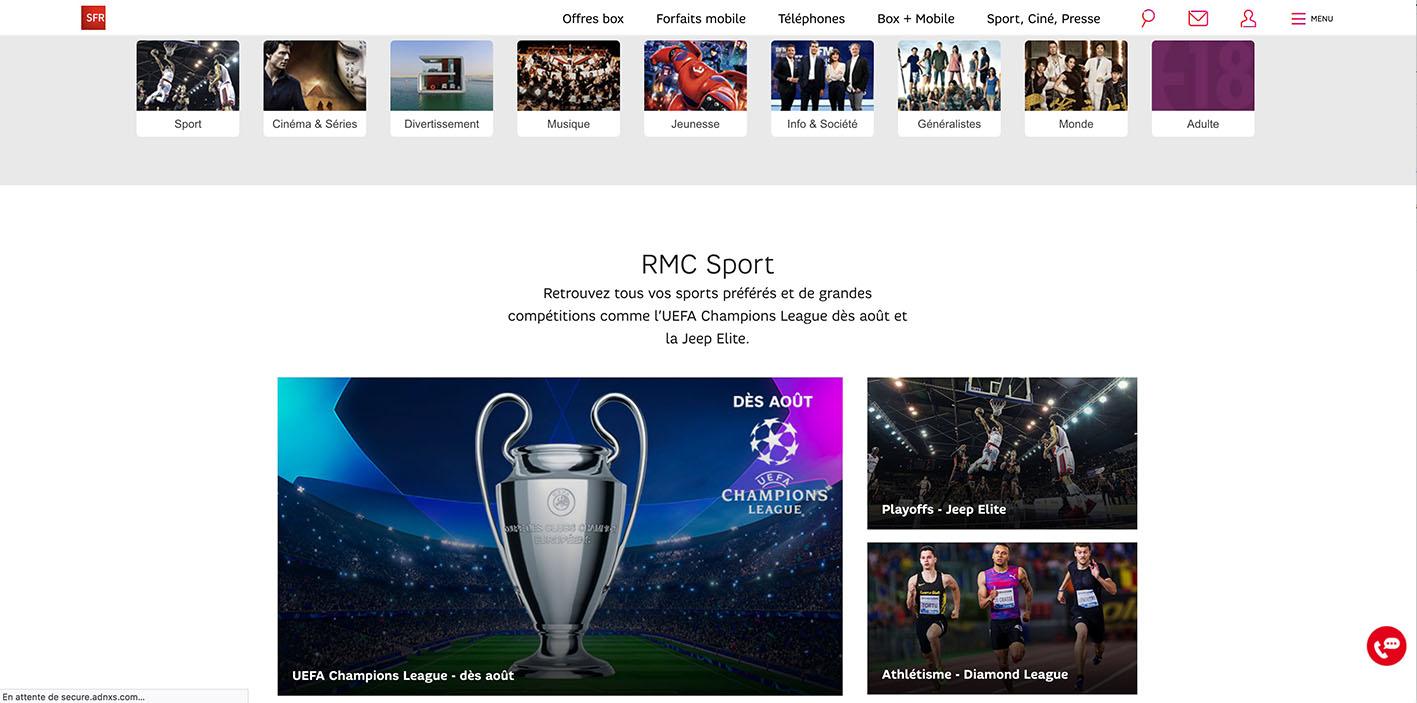 watch rmc sport abroad - regarder RMC Sport à l'étranger