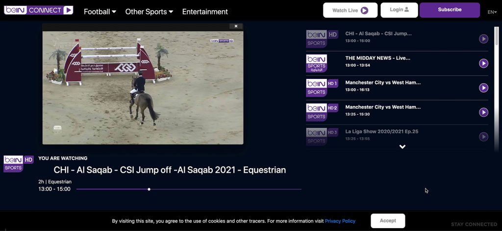 watch bein sports in uk - free beIN channel