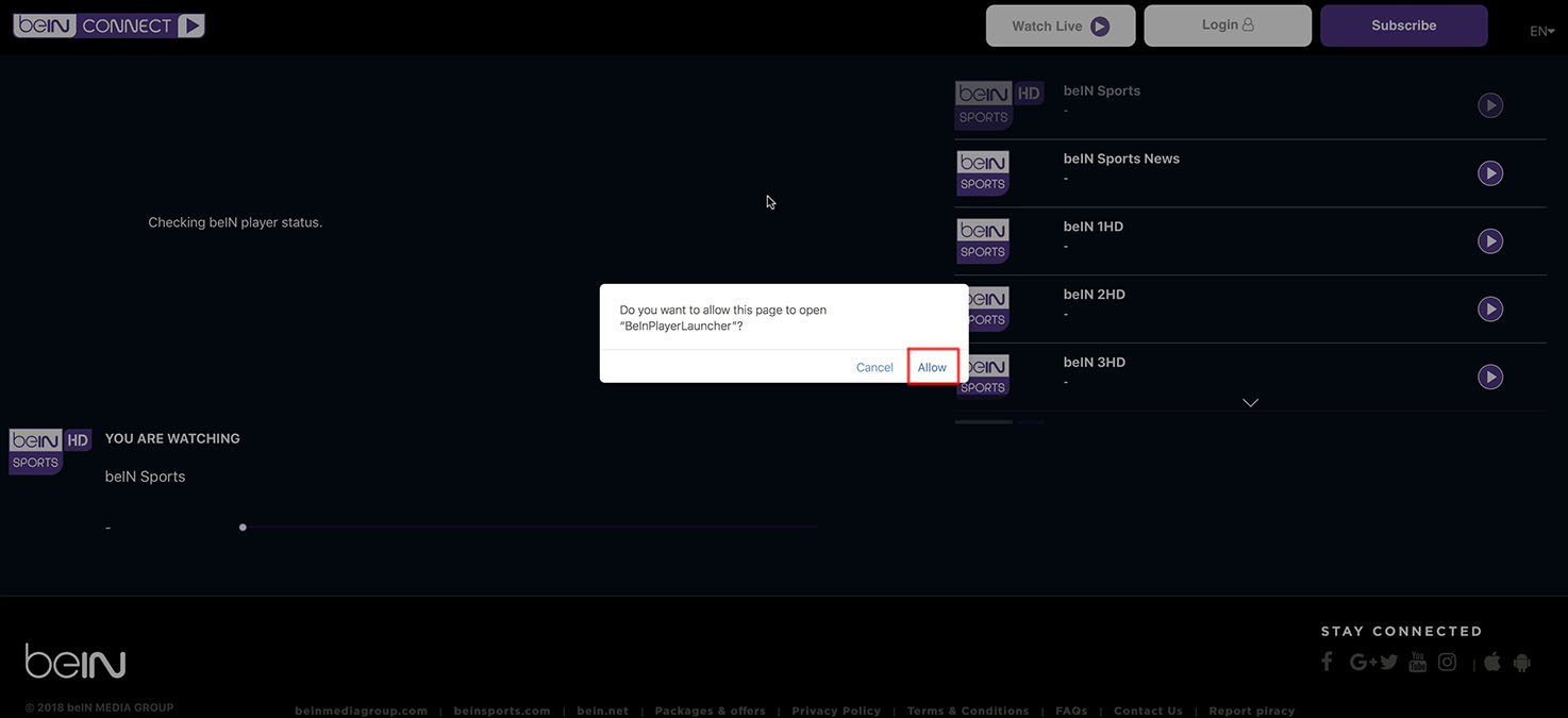 How do I get beIN Sports in UK? Watch Live EPL 2019-2020