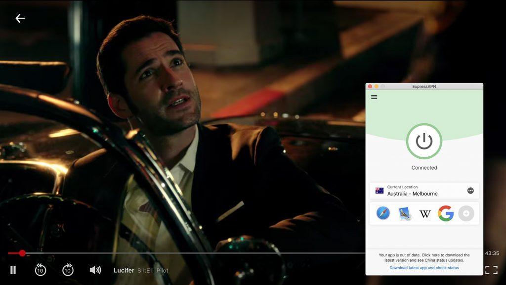 Watch Netflix Australia and change location on Netflix by ExpressVPN