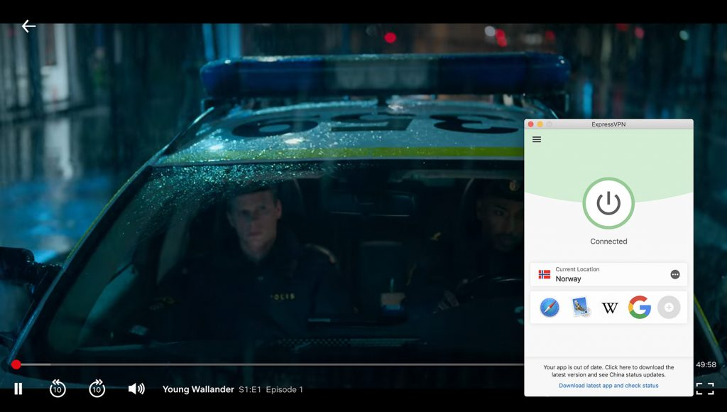 Watch Netflix Norway and change location on Netflix by ExpressVPN