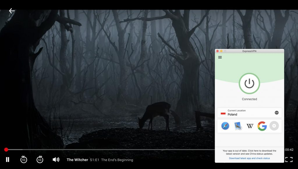 Watch Netflix Poland and change location on Netflix by ExpressVPN