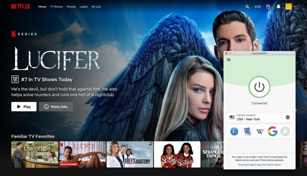 Watch Netflix US library by ExpressVPN the best VPN for Netflix