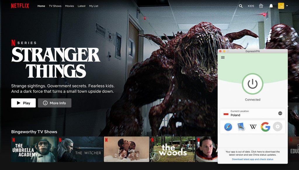 Watch Netflix Poland library by ExpressVPN the best VPN for Netflix