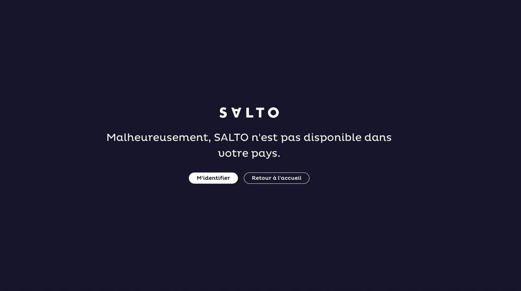Watch SALTO outside France - bypass geoblocking