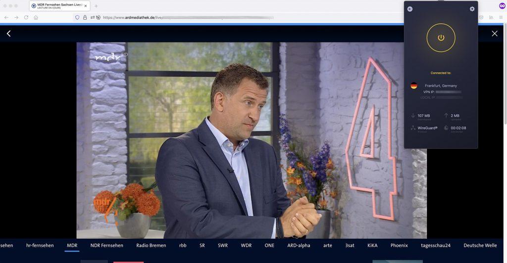 Livestream ARD MDR