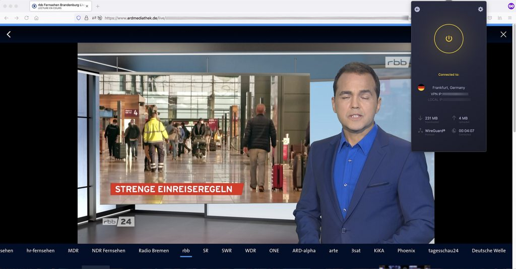 Livestream ARD RBB