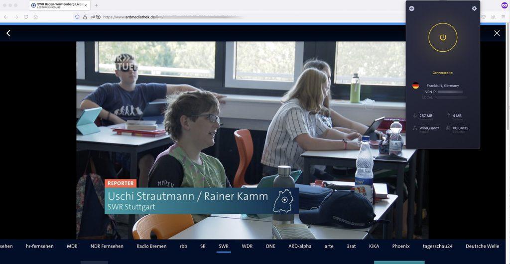Livestream ARD SWR