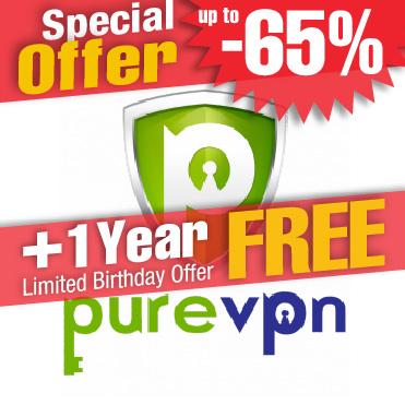PureVPN deal discount coupon free offer